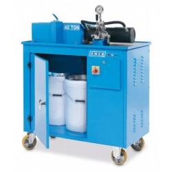Pressa elettroidraulica schiaccia filtri da 40 Ton OMCN